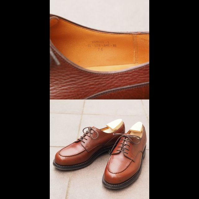 JOHN LOBB(ジョンロブ)の【使用2回】J.M.WESTON ゴルフ 7C チェスナット メンズの靴/シューズ(ドレス/ビジネス)の商品写真
