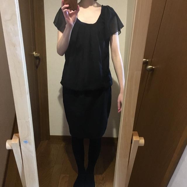 BUONA GIORNATA(ボナジョルナータ)の⚘ 黒のパーティドレス ⚘ レディースのフォーマル/ドレス(ミディアムドレス)の商品写真