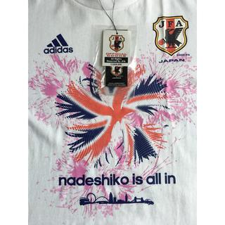 アディダス(adidas)のアディダス 新品 なでしこ サッカー日本代表 Tシャツ サイズO(ウェア)
