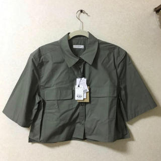 エキプモン(Equipment)のエキプモン EQUIPMENT 新品未使用タグ付き シャツ(シャツ/ブラウス(半袖/袖なし))