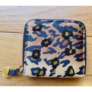 ビューティアンドユースユナイテッドアローズ(BEAUTY&YOUTH UNITED ARROWS)の新品 Soareak セレクトショップ 刺繍 レオパード カードケース 財布(財布)