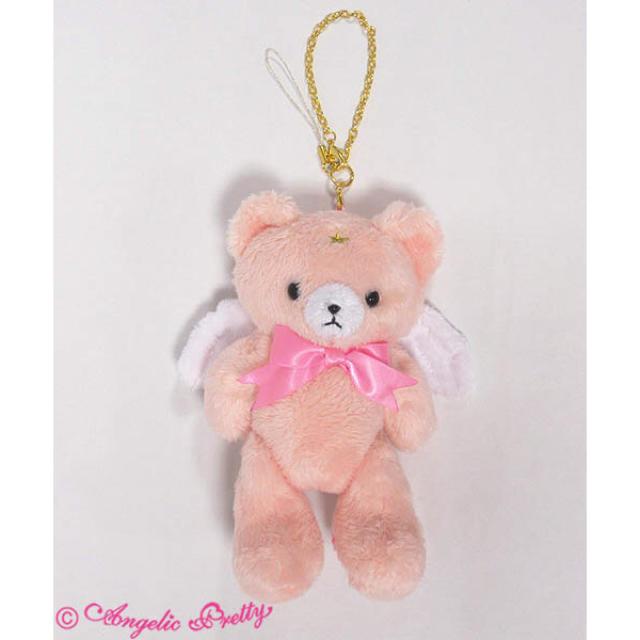 Angelic Pretty(アンジェリックプリティー)のMilky Bear ストラップ レディースのファッション小物(キーホルダー)の商品写真