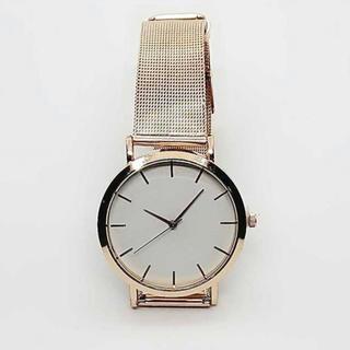 ピンクゴールド 腕時計(腕時計)