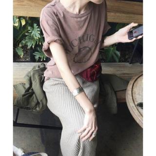 アパルトモンドゥーズィエムクラス(L'Appartement DEUXIEME CLASSE)のREMI RELIEF MICHIGAN Tシャツ アパルトモン(Tシャツ(半袖/袖なし))