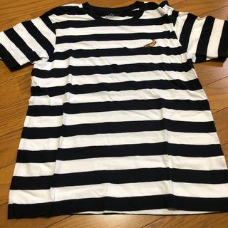 アンディウォーホル(Andy Warhol)のユニクロUT アンディーウォーホル バナナボーダー 美品 andy warhol(Tシャツ/カットソー(半袖/袖なし))