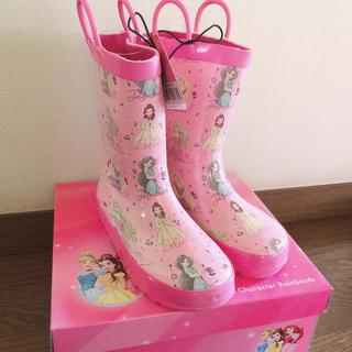 ディズニー(Disney)のディズニー プリンセス レインブーツ 長靴(長靴/レインシューズ)