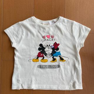ザラ(ZARA)のpoteto様   ミッキー&ミニーTシャツ  (Tシャツ)