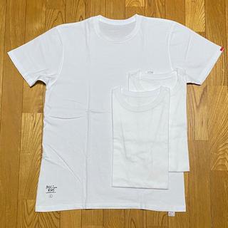 ダブルタップス(W)taps)のL WTAPS SKIVVIES 白×3枚 ダブルタップス 992(Tシャツ/カットソー(半袖/袖なし))