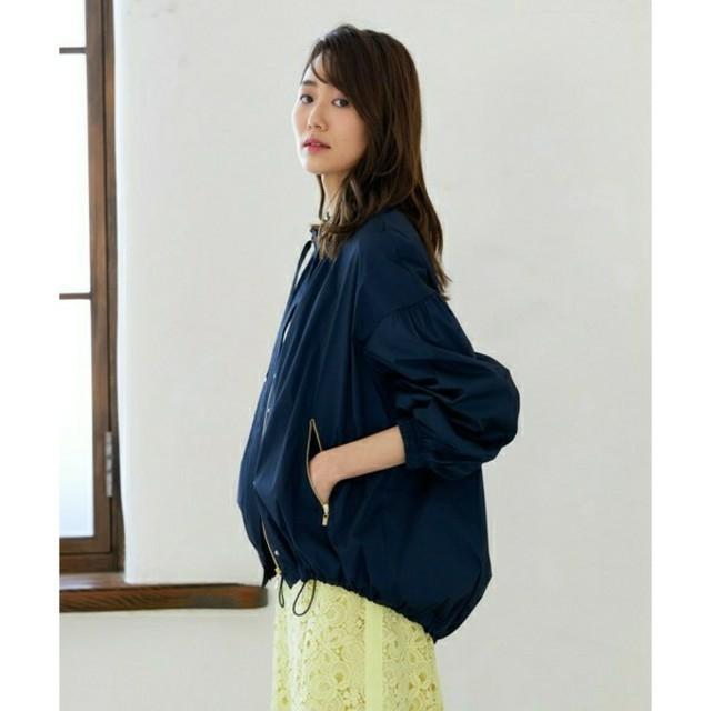 ANAYI(アナイ)のアナイ  新品 今期 タフタギャザーブルゾン レディースのジャケット/アウター(ブルゾン)の商品写真