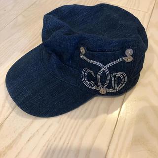 クリスチャンディオール(Christian Dior)の帽子 ディオール キッズ(帽子)