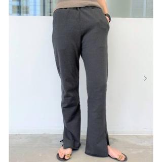 アパルトモンドゥーズィエムクラス(L'Appartement DEUXIEME CLASSE)のアパルトモン GOOD GRIEF !  Sweat Pants グレー38(カジュアルパンツ)