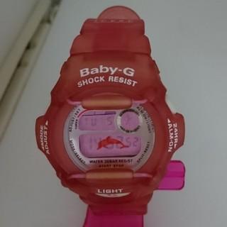 ベビージー(Baby-G)のBaby-G 370K イルカ ローズピンク(腕時計)