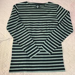 エドウィン(EDWIN)のエドウィン ボーダー ロンT Lサイズ  美品(Tシャツ/カットソー(七分/長袖))