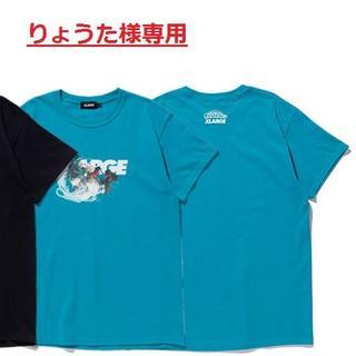 エクストララージ(XLARGE)のりょうた様専用:XLARGE TEE DEKU グリーンのL 1枚(Tシャツ/カットソー(半袖/袖なし))