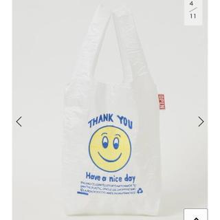 ドゥーズィエムクラス(DEUXIEME CLASSE)の5月6日迄😊 OPEN EDITIONS SMILEY MINI BAG (エコバッグ)