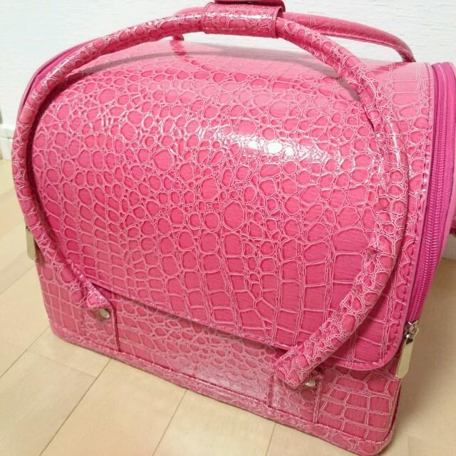 クロコ調♡ネイルバッグ♡メイクボックス♡ コスメ/美容のネイル(カラー