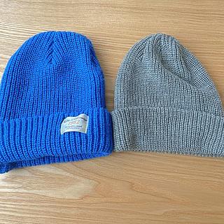 ジーユー(GU)のニット帽セット売り(ニット帽/ビーニー)