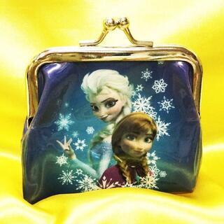 ディズニー(Disney)のアナと雪の女王 がま口財布 コインケース (おまけシール17枚付)(財布)