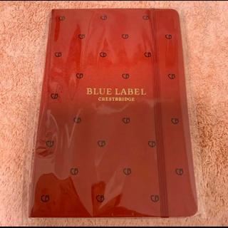バーバリーブルーレーベル(BURBERRY BLUE LABEL)のブルーレーベルクレストブリッジ ノベルティーノート 非売品(ノート/メモ帳/ふせん)