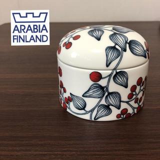 アラビア(ARABIA)の【未使用】アラビア ルノ フロストベリー ジャー シュガーポット(食器)