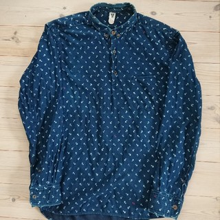 フォーティーファイブアールピーエム(45rpm)の45rpm インディゴ染めシャツ(シャツ)