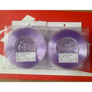 新品未開封+1巻使用品 DRTナイロン 30lb(釣り糸/ライン)