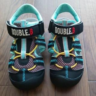 ダブルビー(DOUBLE.B)のDOUBLE.B【18㎝】サマーシューズ サンダル(サンダル)