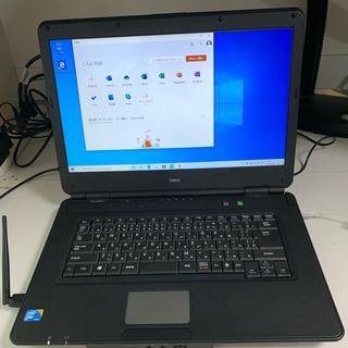 エヌイーシー(NEC)のNEC  WIN10ノートパソコン(ノートPC)