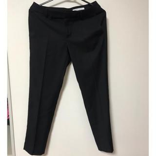 スーツカンパニー(THE SUIT COMPANY)の新品タグ付き スーツカンパニー テーパードパンツ 38 ブラック(その他)