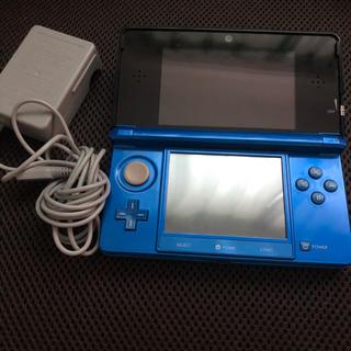 ニンテンドー3DS(ニンテンドー3DS)の3DS 本体 充電器付き(携帯用ゲーム機本体)
