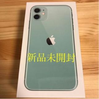 アイフォーン(iPhone)のiPhone 11 グリーン  64  GB(スマートフォン本体)