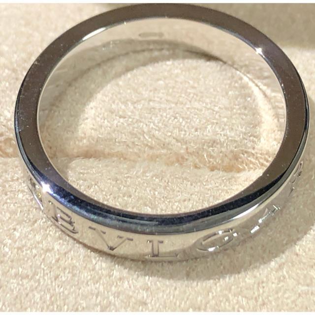 BVLGARI(ブルガリ)のブルガリダブルロゴリング#18 メンズのアクセサリー(リング(指輪))の商品写真