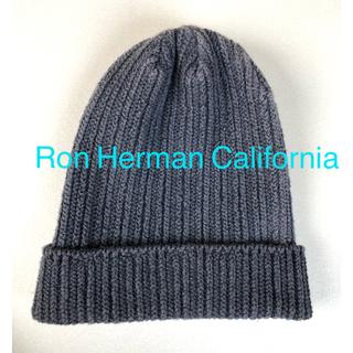 ロンハーマン(Ron Herman)の【1〜2回使用】Ron Herman ロンハーマン ニット帽 送料込み◎(ニット帽/ビーニー)