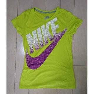 ナイキ(NIKE)のナイキ・ビッグロゴレディースTシャツS(ウォーキング)