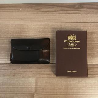 ホワイトハウスコックス(WHITEHOUSE COX)の(ティラミス様専用)ホワイトハウスコックス箱のみ(折り財布)