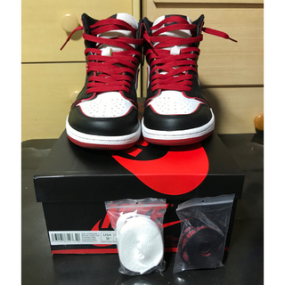 ナイキ(NIKE)のNIKE AIR JORDAN 1 OG BLOOD LINE 27.5cm(スニーカー)