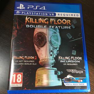 プレイステーションヴィーアール(PlayStation VR)のキリングフロア2 incursion VR 欧州版 PS4(家庭用ゲームソフト)