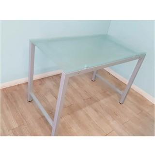水色ガラスのテーブル(バーテーブル/カウンターテーブル)