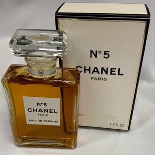 シャネル(CHANEL)のN°5 CHANEL 香水 50ml ❤︎新品未使用(香水(女性用))