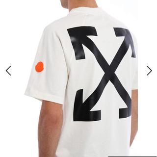 モンクレール(MONCLER)の【限定品】モンクレール×オフホワイト コラボTシャツ(Tシャツ/カットソー(半袖/袖なし))