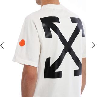オフホワイト(OFF-WHITE)の【限定品】モンクレール×オフホワイト コラボTシャツ(Tシャツ/カットソー(半袖/袖なし))