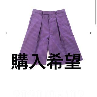 ジョンローレンスサリバン(JOHN LAWRENCE SULLIVAN)のLITTLEBIG Stripe short trousers(PUP)(ショートパンツ)