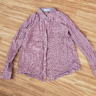 アウラアイラ(AULA AILA)のライザチェックシャツ(シャツ/ブラウス(長袖/七分))