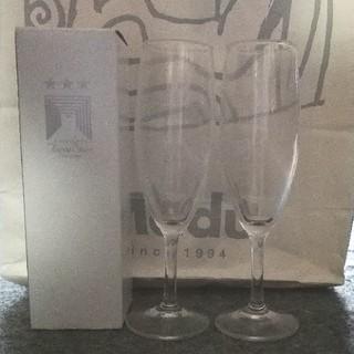トウヨウササキガラス(東洋佐々木ガラス)の東京ミッドタウン オリジナルワイングラス ペア 非売品(グラス/カップ)