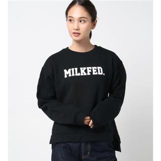 ミルクフェド(MILKFED.)のMILKFED. スウェットカットソー(トレーナー/スウェット)