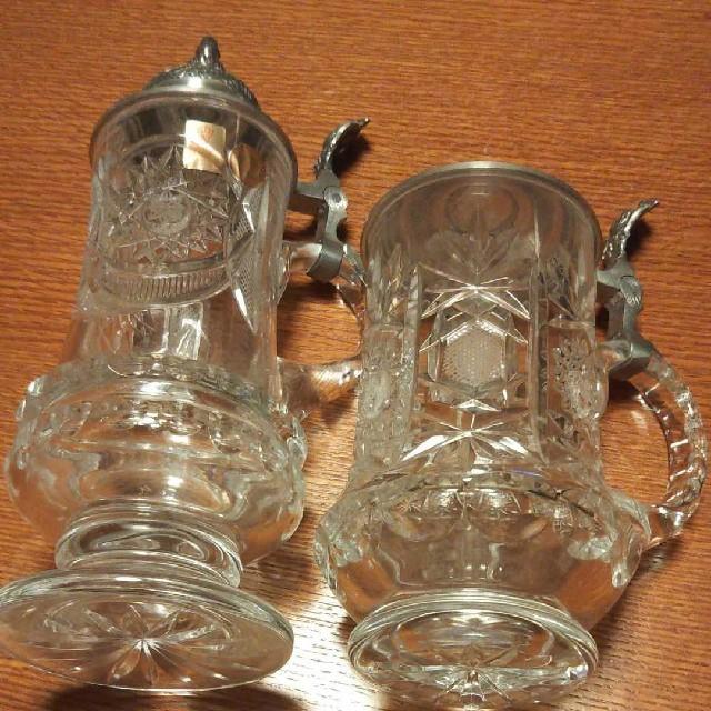 Nachtmann(ナハトマン)のナハトマン ビアマグ二点 インテリア/住まい/日用品のキッチン/食器(グラス/カップ)の商品写真