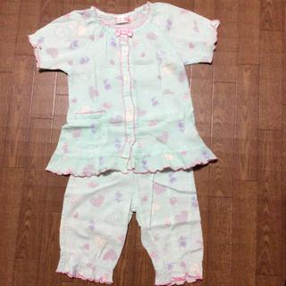 シマムラ(しまむら)のパジャマ 夏用 綿100% 半袖 五分丈(パジャマ)