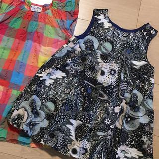 センスオブワンダー(sense of wonder)の80サイズ 子供服(ワンピース)