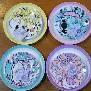 ディズニー(Disney)のディズニー メラミンプレートセット(プレート/茶碗)