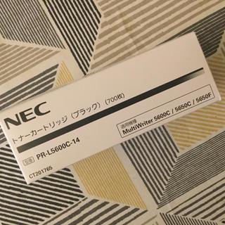 エヌイーシー(NEC)のNEC トナーカートリッジ(ブラック)型番PR-L5600C-14(OA機器)